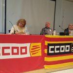 Assemblea informativa de CCOO sobre les pensions públiques al Prat de Llobregat