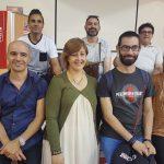 Acollida de nous delegats i delegades de Correos express