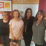 Les delegades de CCOO de la Federació de Serveis a la Ciutadania, participen al 5e Congrés de les Dones del Baix Llobregat
