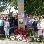 CCOO fa la ofrena floral a Garcia Nieto