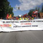 La patronal  de mercancías por carretera, reacia a las posiciones sindicales